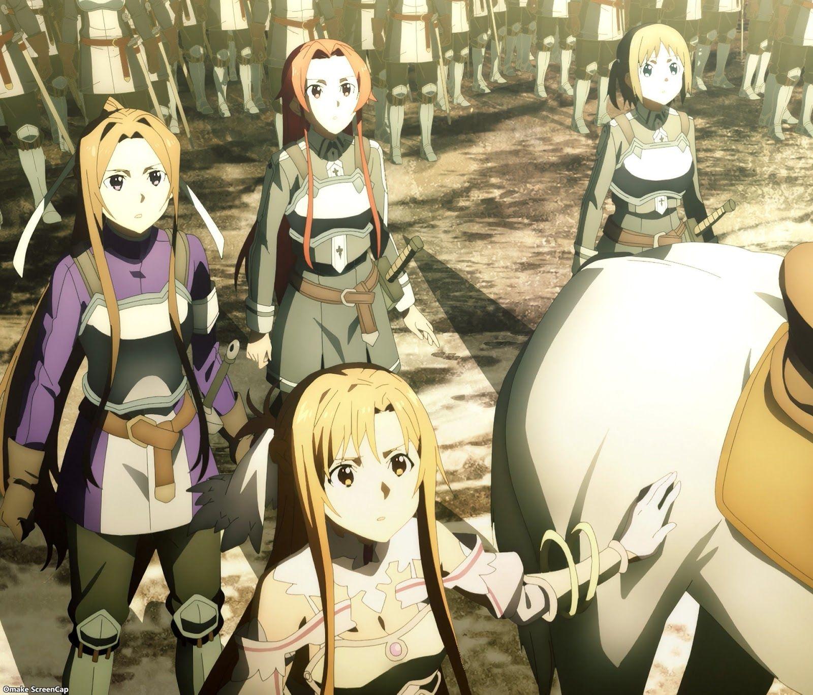 10 Second Anime Sword Art Online Alicization War of