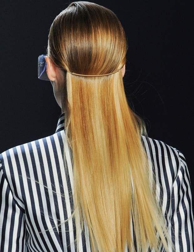 20 idées de coiffures piquées aux podiums