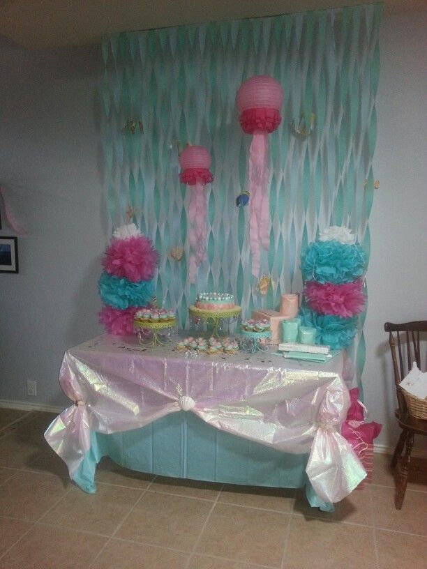 Helped Made This For A Under The Sea Babyshower Baby Shower