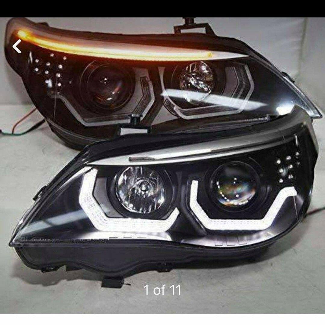 led Headlights BMW E60 | Bmw | Bmw e60, Bmw m5 e60, Bmw interior