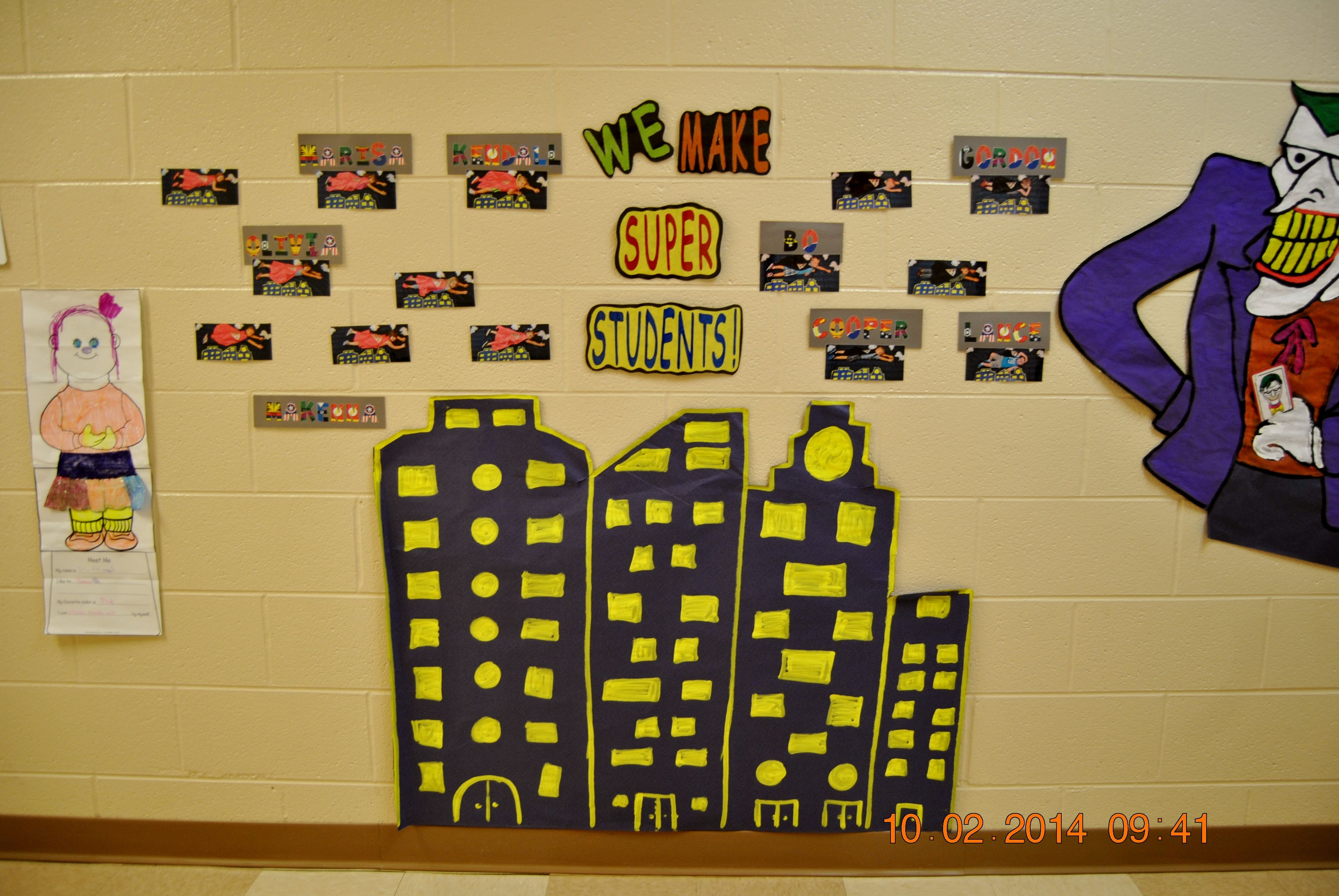 we make super students 2014 2015 super hero theme superhero theme student how to make pinterest