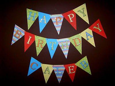 A To Zebra Celebrations: Sesame Street Birthday Banner