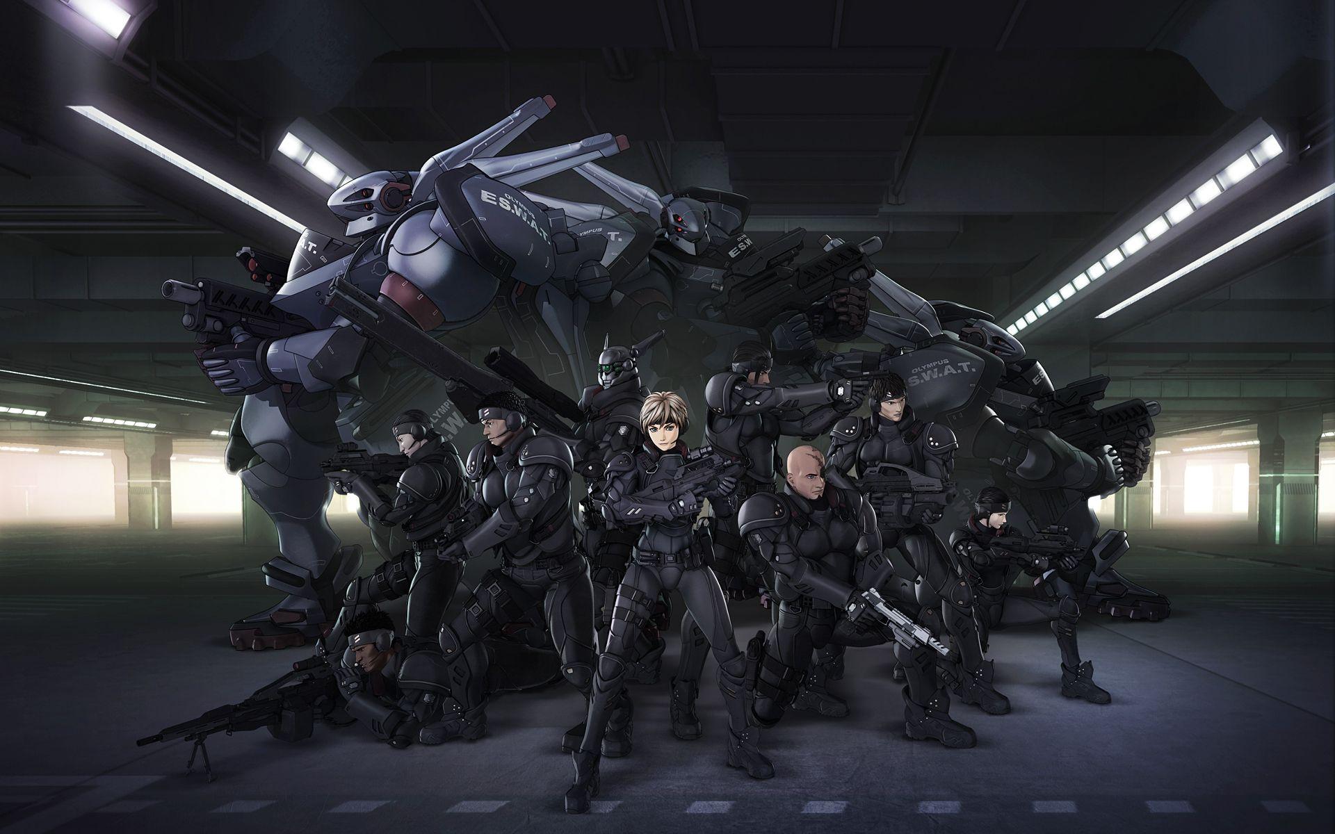Anime Appleseed Anime Swat Wallpaper Lovelystuff In 2019