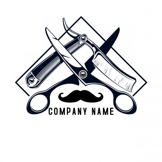 A Barber Shop Logo Template Postermywall Barber Logo Barbershop Design Barber Shop