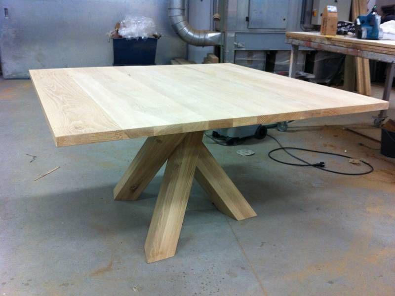 Kruispoot tafel bouwtekening gu 53 blessingbox for Bouwtekening tafel
