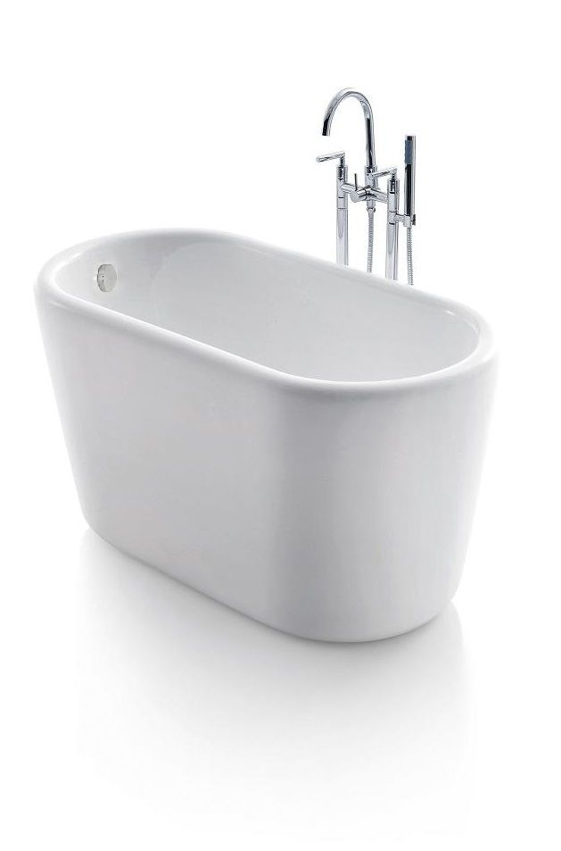 Giano Acrylic Modern Freestanding Soaking Bathtub 51\