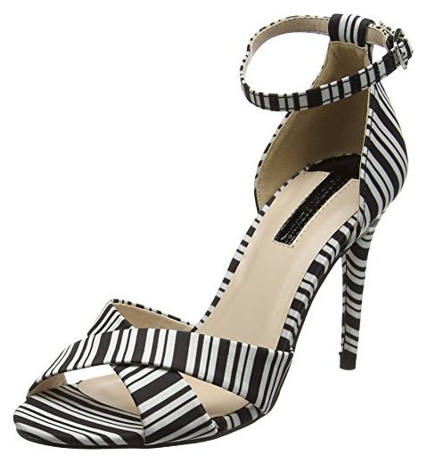 8f3e8f1d7632bf Dorothy Perkins Damen Swoosh High Heel Sandalen mit Absatz