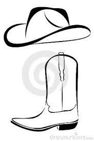 Hat Boots   Cowboy boots drawing, Cowboy hats, Cowboy