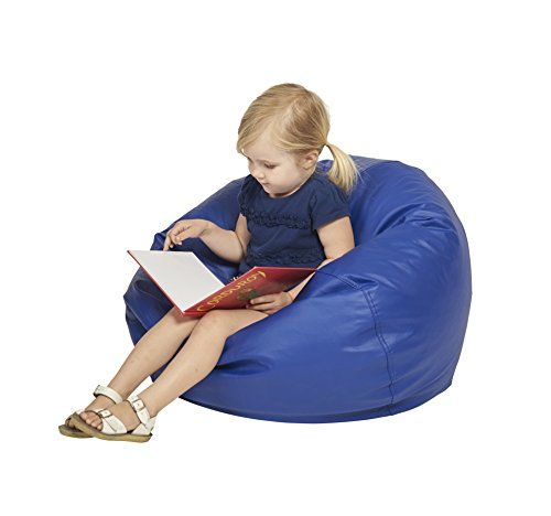 Ecr4kids Classic Bean Bag Chair Junior 26 Blue Want To Know More