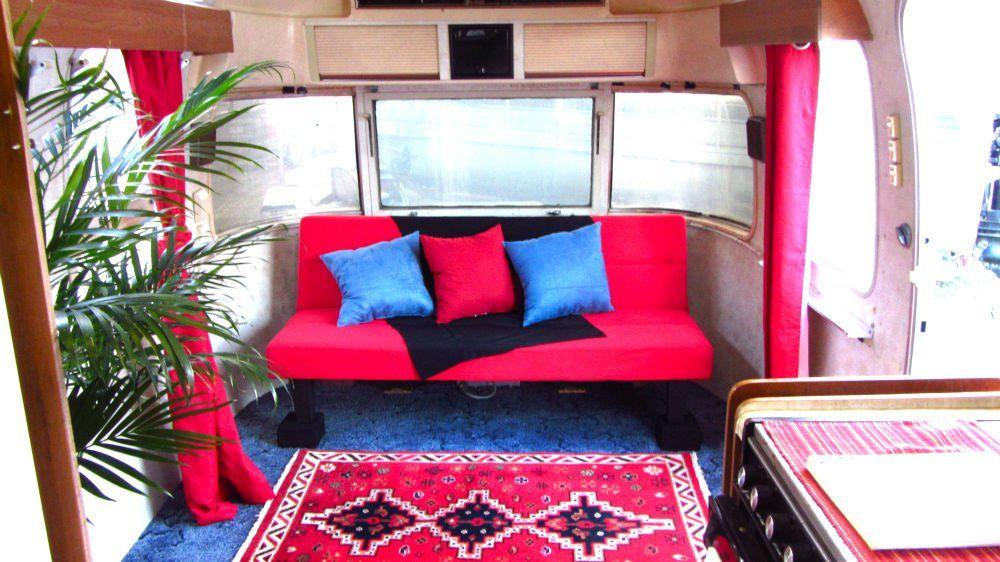 1985 Airstream Excella 31 Florida Vintage Airstream Airstream Outdoor Sofa