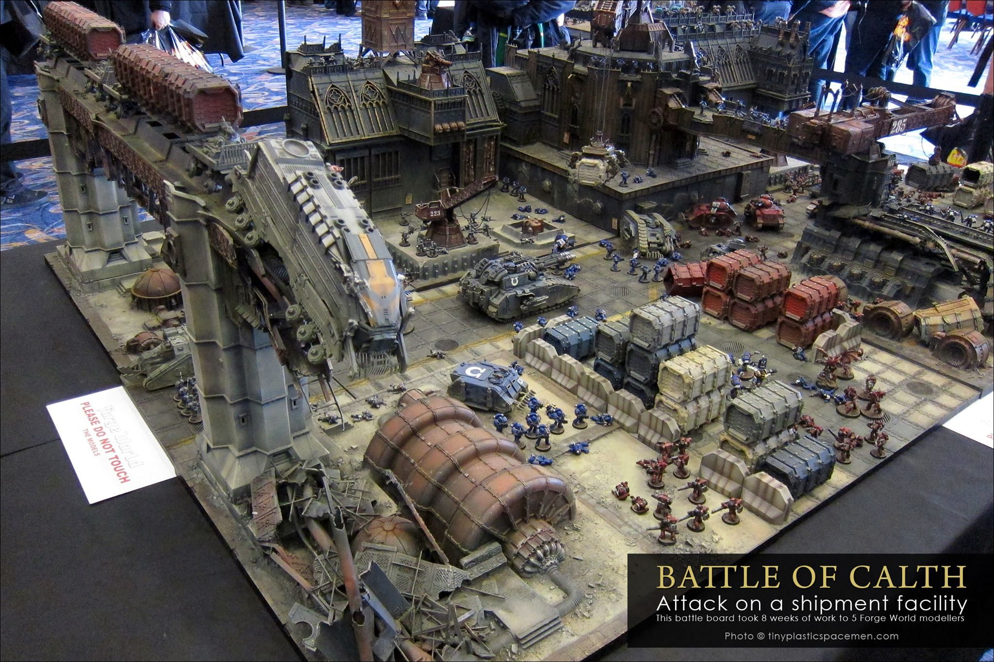 Vivid New Pics Of The Battle For Calth 40k Studio Table Spikey