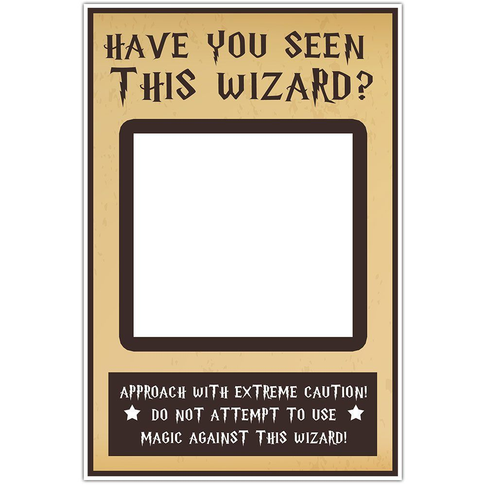 Insta Have You Seen This Wizard Selfie Frame Social Media Frame ...