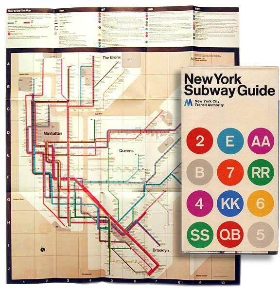 1972 Nyc Subway Map