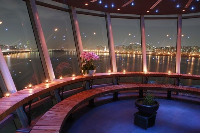Hangang River Lookout Cafes