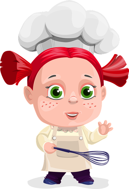 Free Image On Pixabay Girl Cook Cooking Paddle Kid Cartoon Kid Characters Low Carb