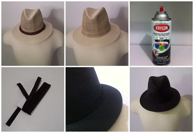 4904cdbd23627d spray paint hats to change colors | Craft | Hats, Painted hats, Mens ...