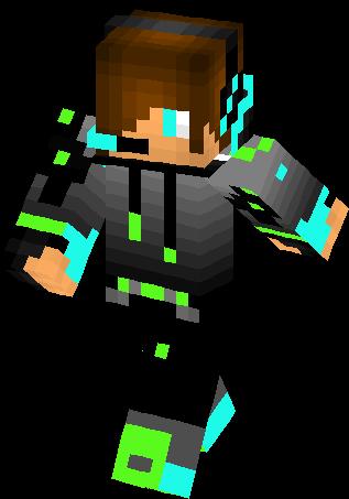 Minecraft Skins Boy With Headphones And Hoodie Download - Skins minecraft kostenlos downloaden