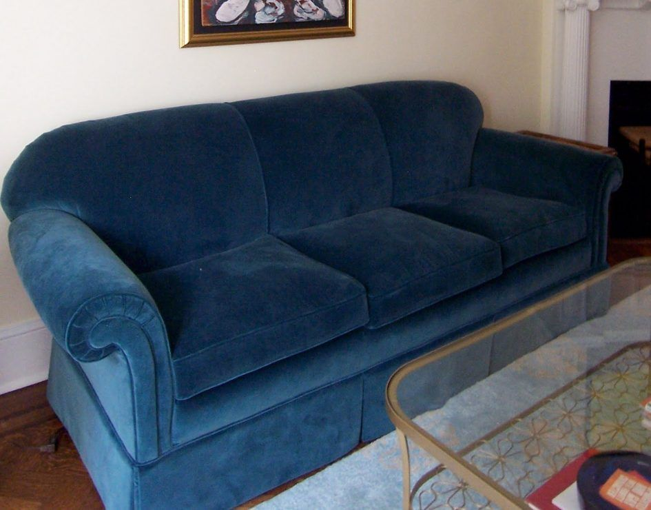 Furniture How To Upholster A Sofa In A Room That Is Not Too Large With A