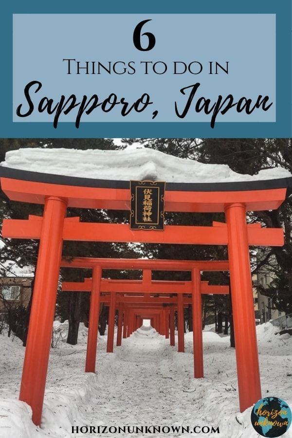 6 Memorable Things to do in Sapporo - Travel Through Photography - There are a number of great things to do in the capital city of Hokkaido. Here's 6 activities in Sapporo!  .