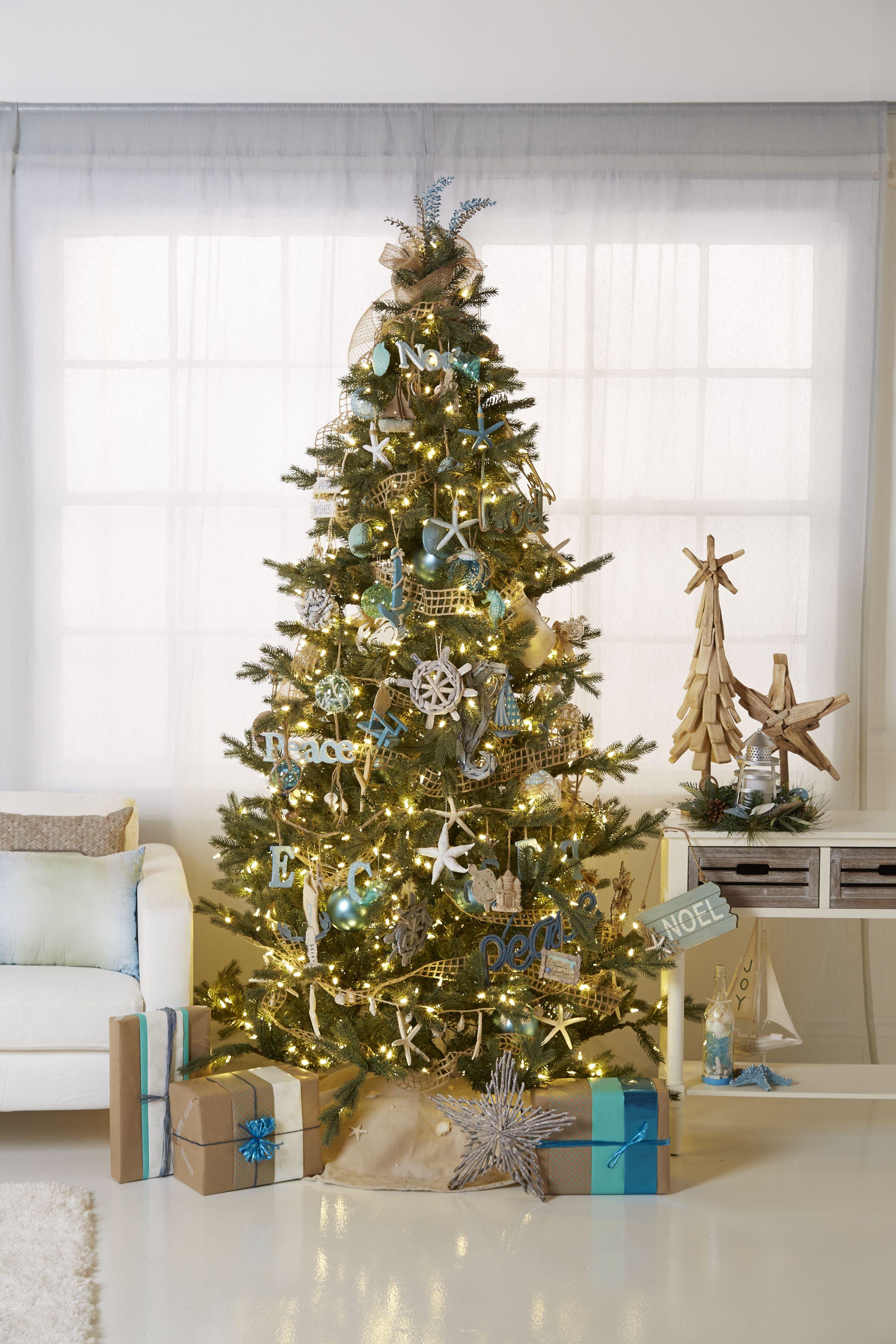 coastal wishes trim your christmas tree with a piece of florida starfish driftwood - Christmas Tree Shop Florida