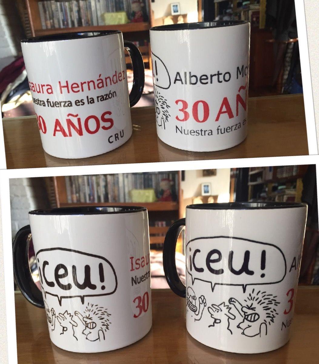 Isa y yo, el recuerdo del CEU y dos cafés humeantes... No sé piénsalo 😍👌🏻  (Tazas cortesía de Marco Levario)