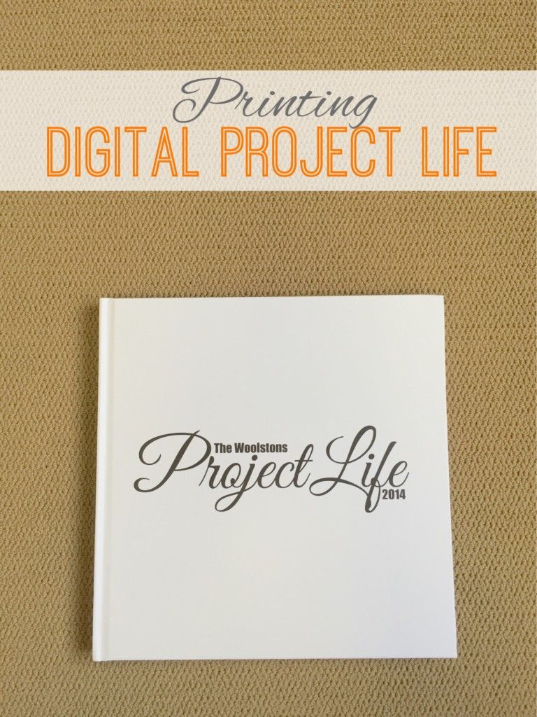 Printing Digital Project Life | Marmalade Mementos