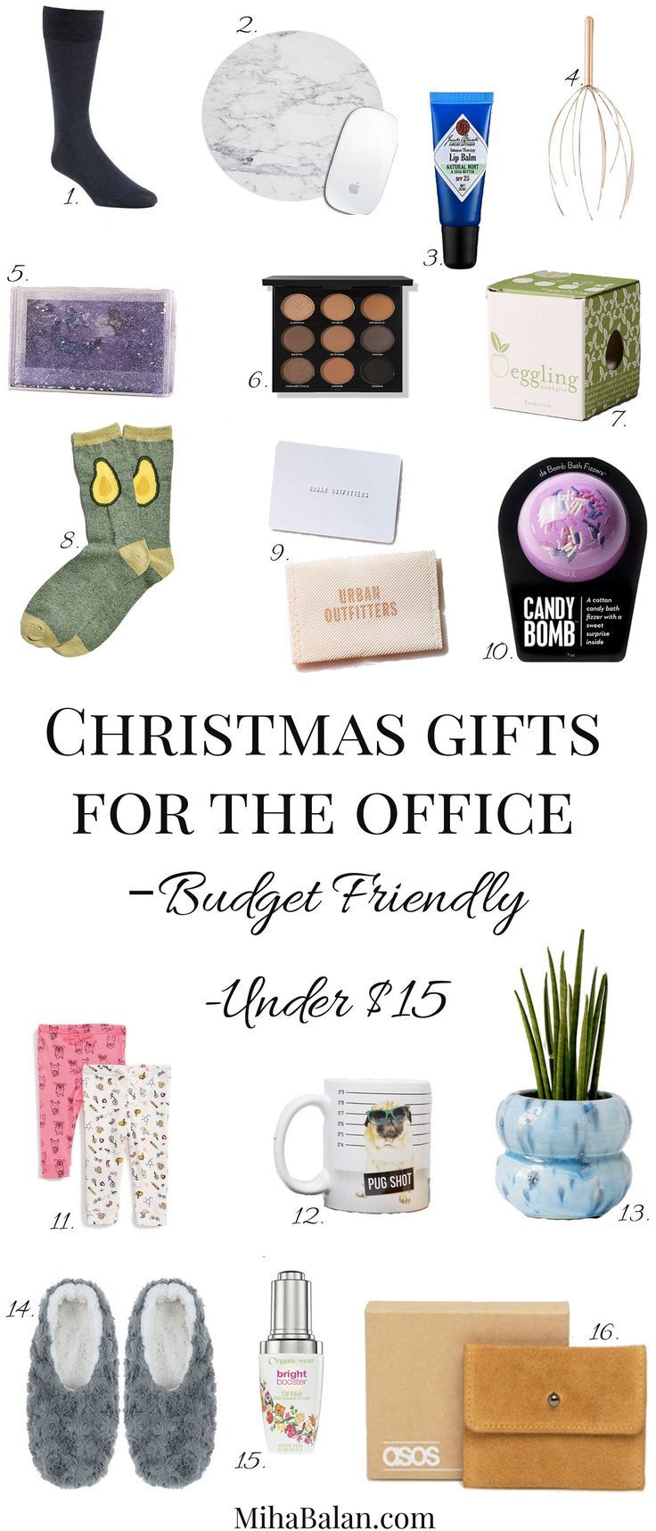 Christmas Gifts For The Office, under 15