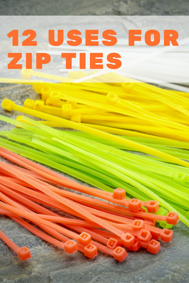 12 Surprising Ways to Use Zip Ties The unassuming