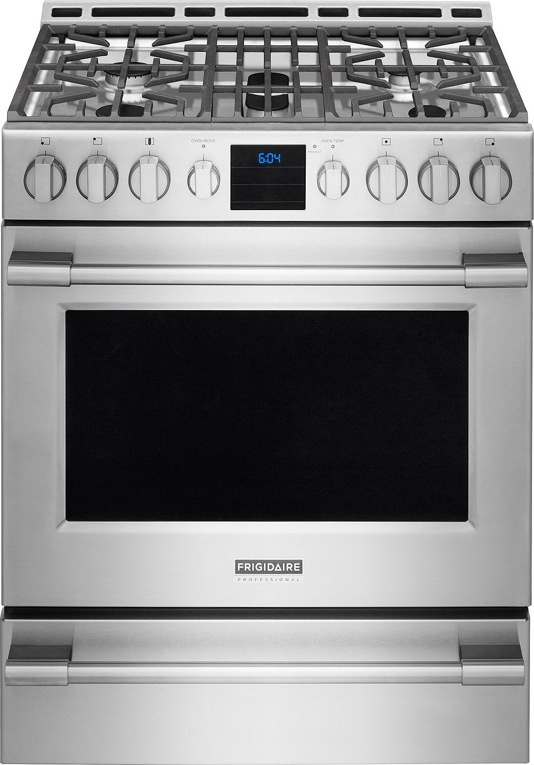 Frigidaire Professional Stainless Steel Freestanding Gas Range - Abt gas ranges