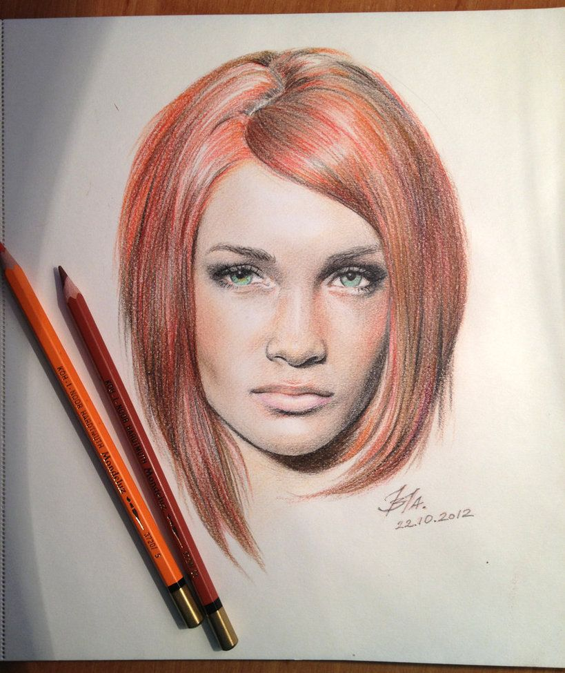 How to draw with colored pencils - First Time I Tried To Draw With Colored Pencil And I M Happy With The Result Colored Pencil Test