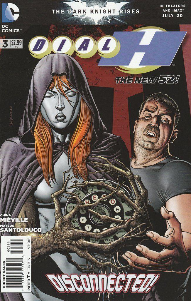 Dial H 3 Dc Comics The New 52 Personajes Comic Comics Y Arte
