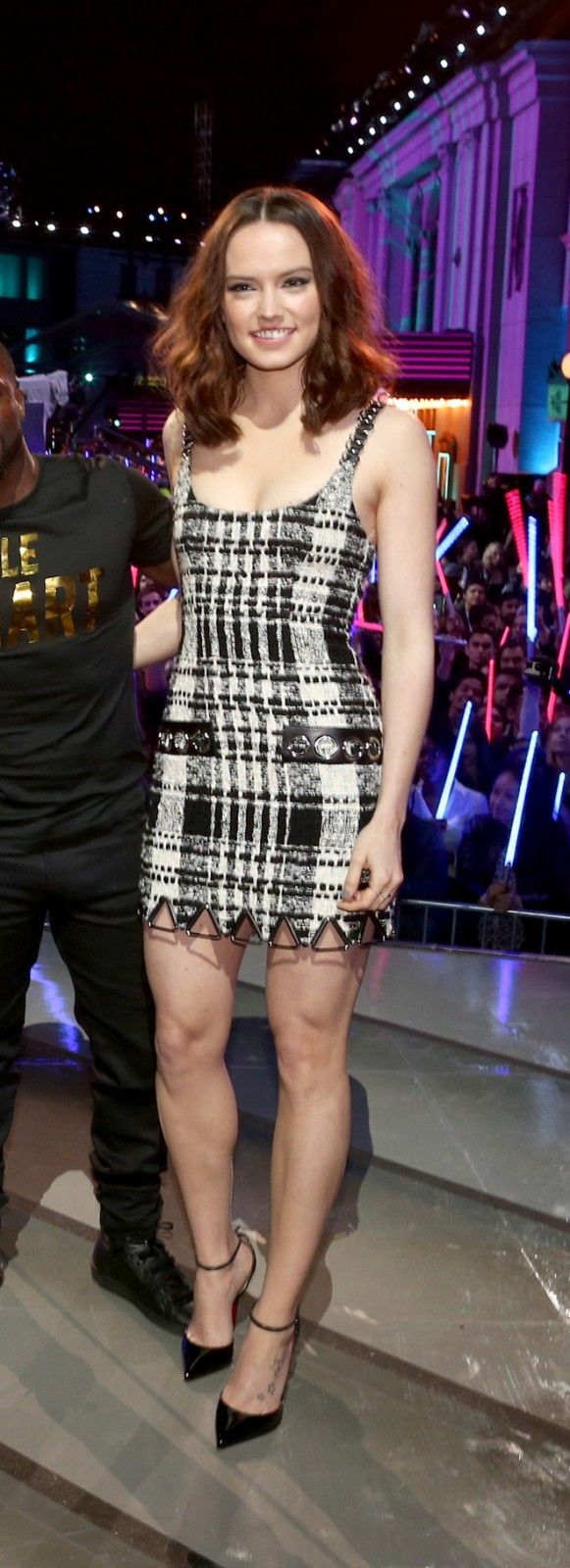 Daisy Ridley in Alexander Wang   MTV Movie Awards 2016