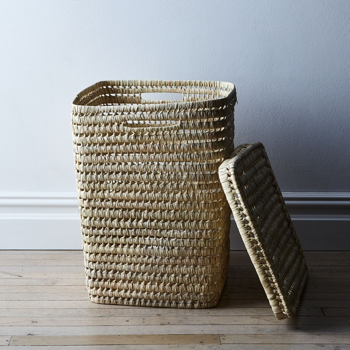 Woven Moroccan Laundry Basket With Lid Laundry Basket With Lid