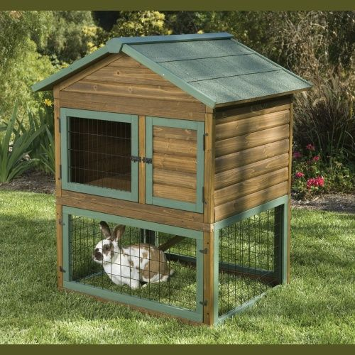 how to build a diy rabbit hutches in four easy steps