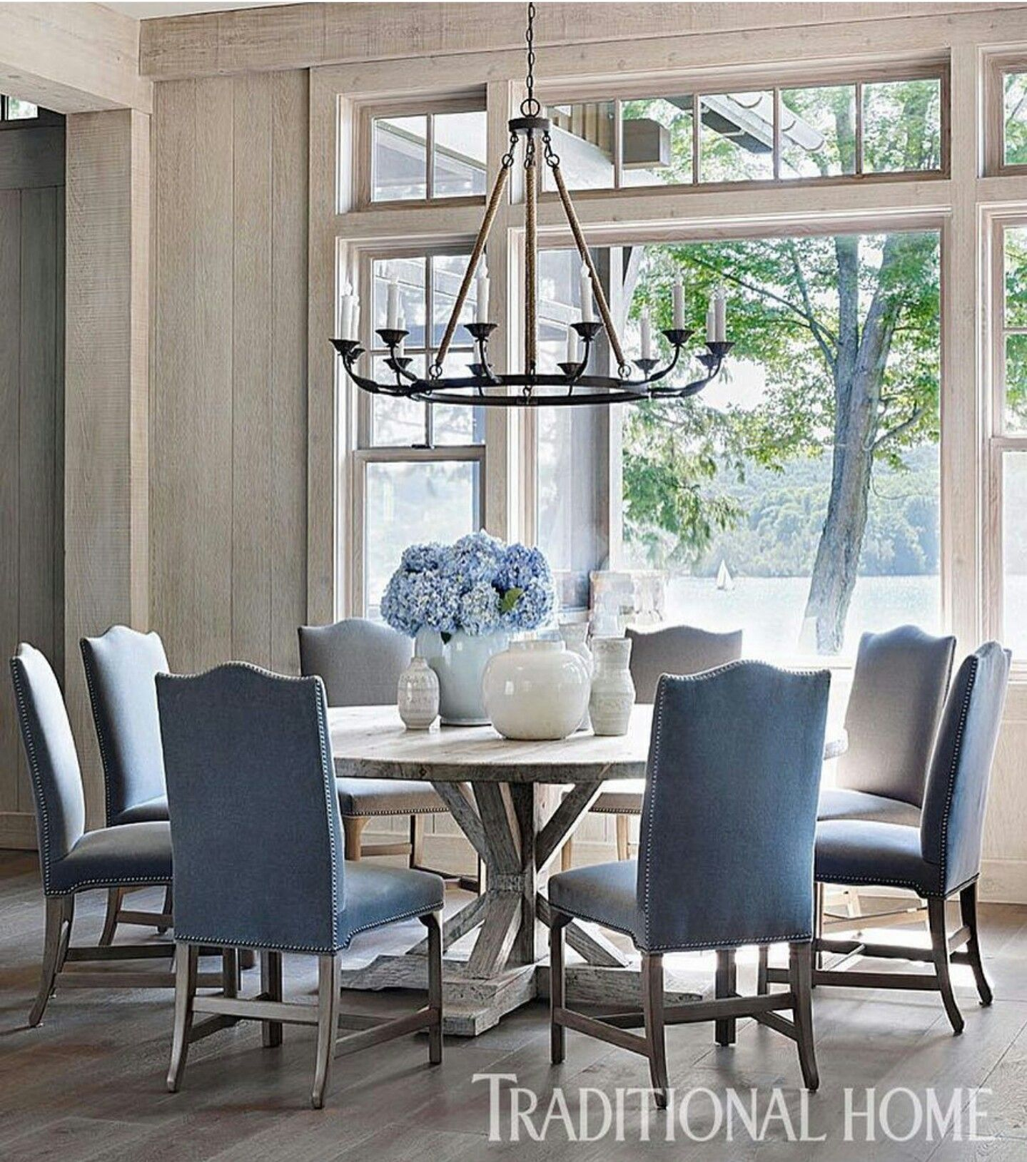 Charming And Cheap Decor Ideas Formal Dining Room: Country Chic Dining By Traditional Home