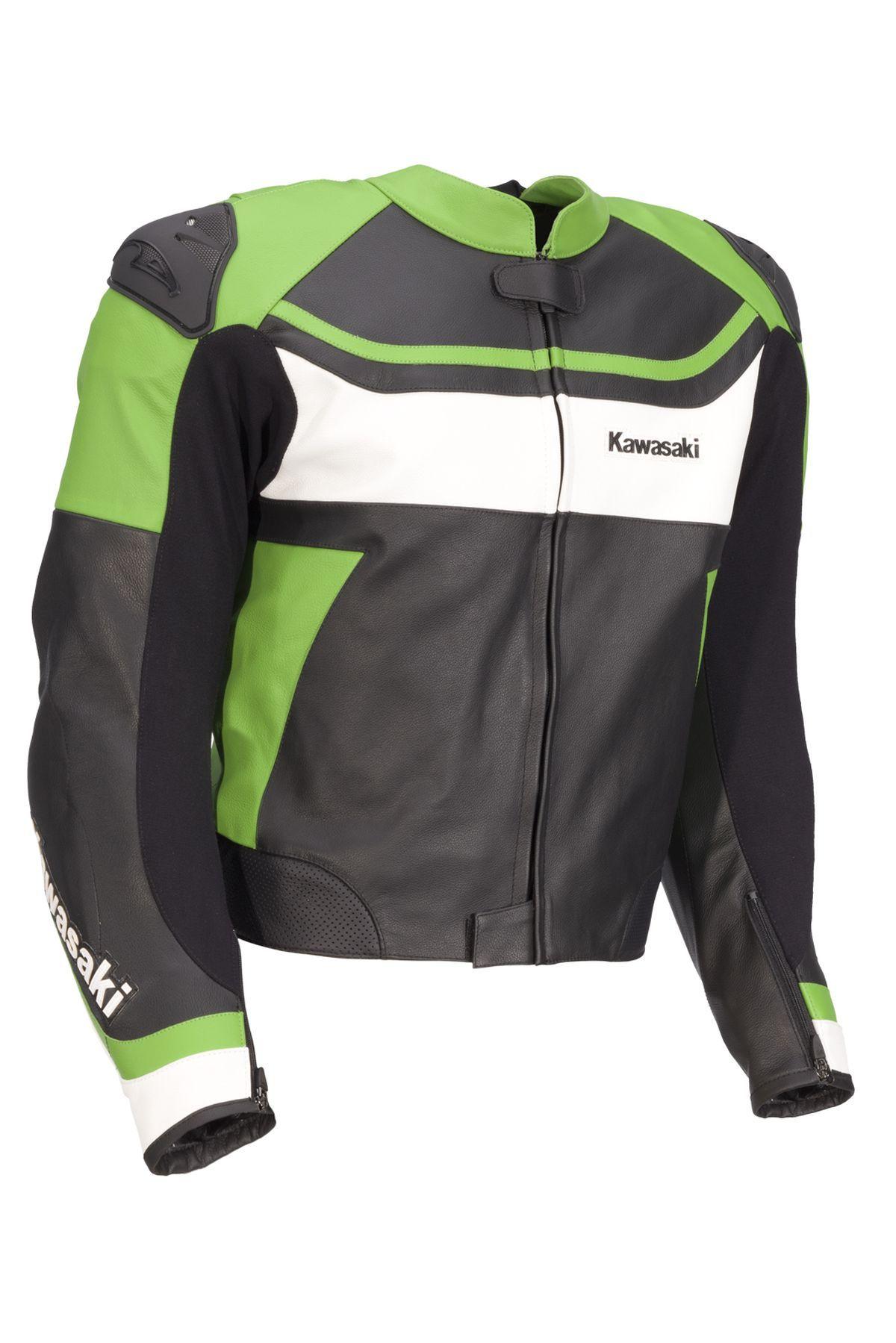 NINJA LEATHER JACKET Kawasaki jacket, Motorcycle jackets