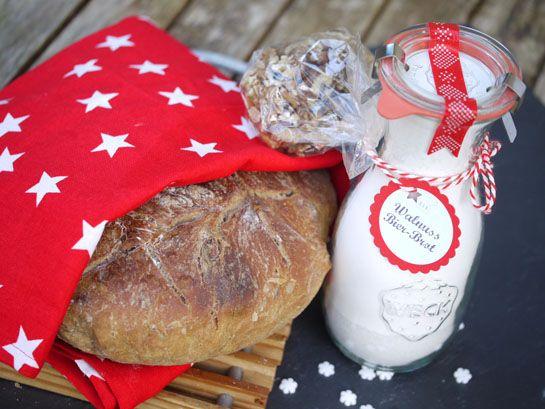 Walnuss-Bier-Brot-Mischung \u2013 eine superschnelle Last-Minute-Geschenk