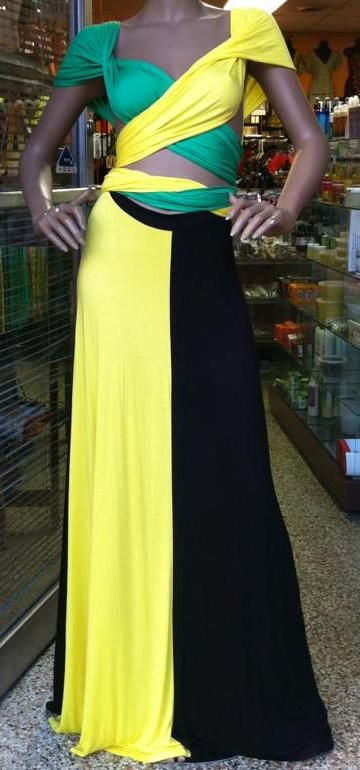 Pin By Elisa Allen On Jamaica Jamaican Clothing Jamaican Dress Carnival Outfits