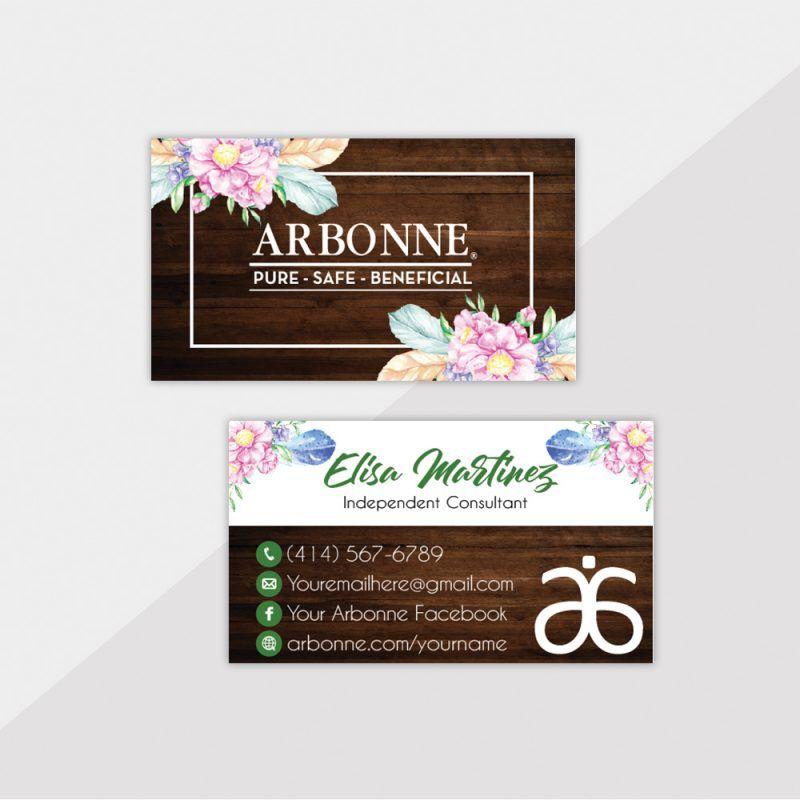 Arbonne Business Cards Arbonne Business Cards Arbonne Business Arbonne