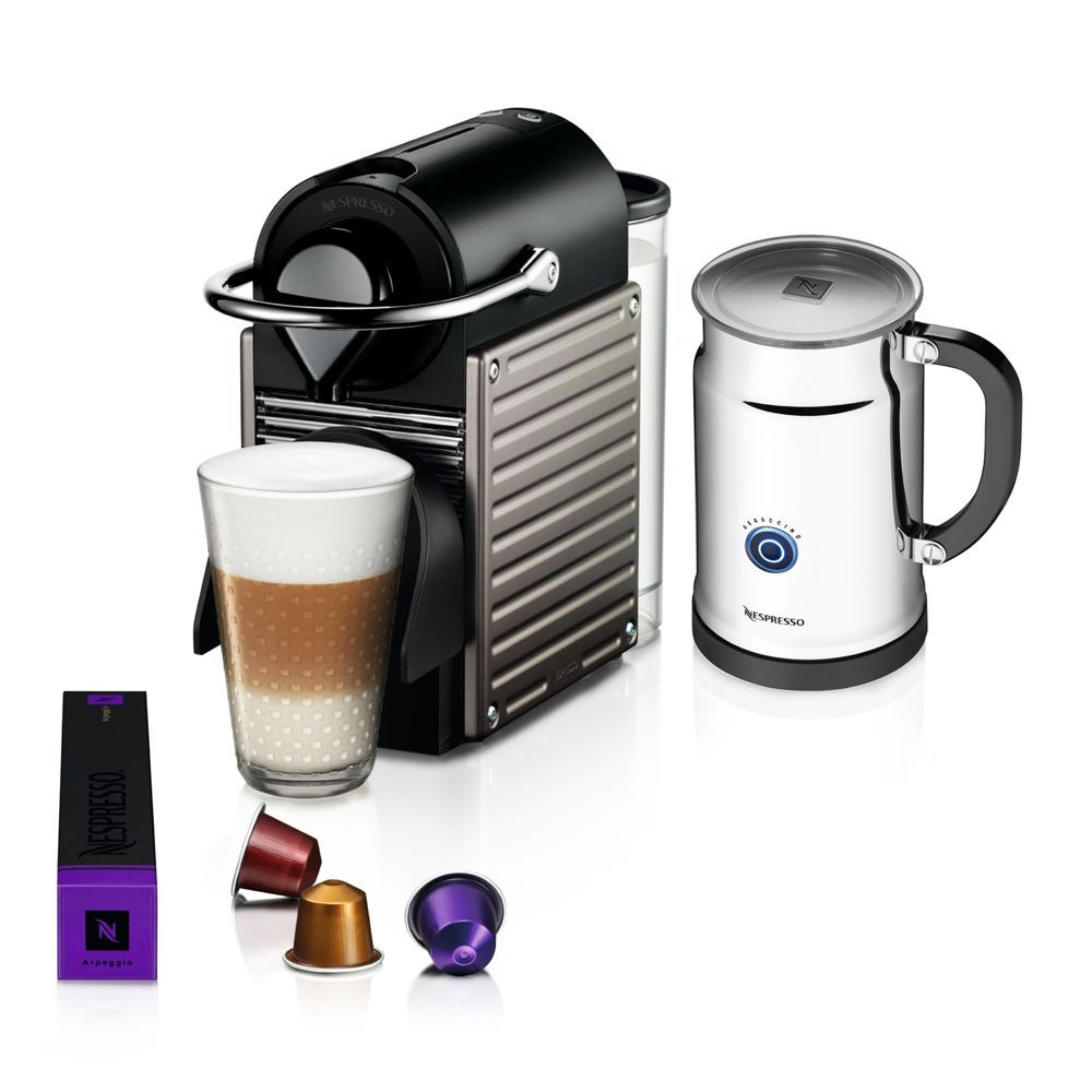 your own favorite barista with the versatile Pixie