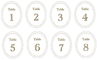 Candy Jar Labels & Table Numbers | \'i do\'-it-yourself® | Printables ...