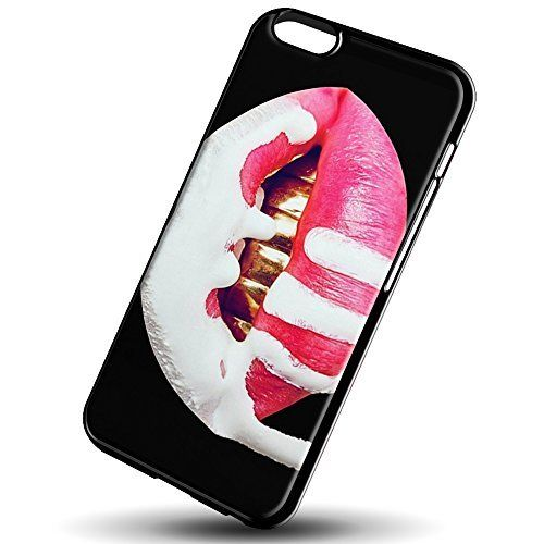 Kylie Jenner hot lips for iPhone 66s Black case * Click image for more details.