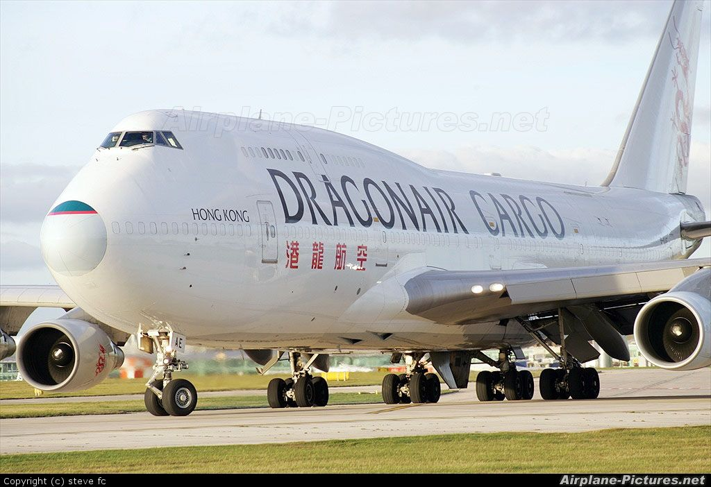Dragonair Cargo B-KAH aircraft at Manchester