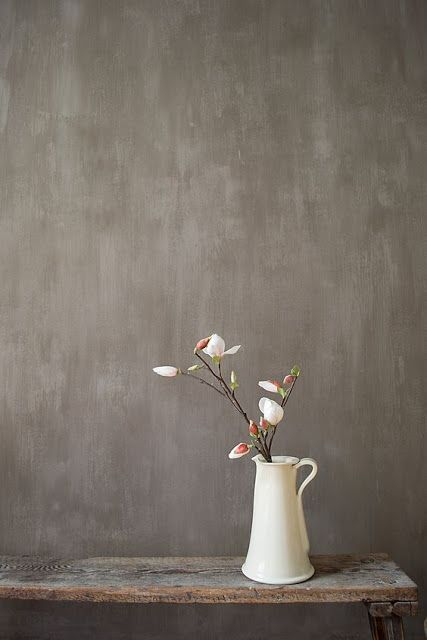 Diy A Painted Concrete Looking Wall Decorating
