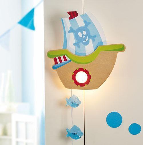 HABA Schlummerlicht Piratenschiff Lampe kinderzimmer
