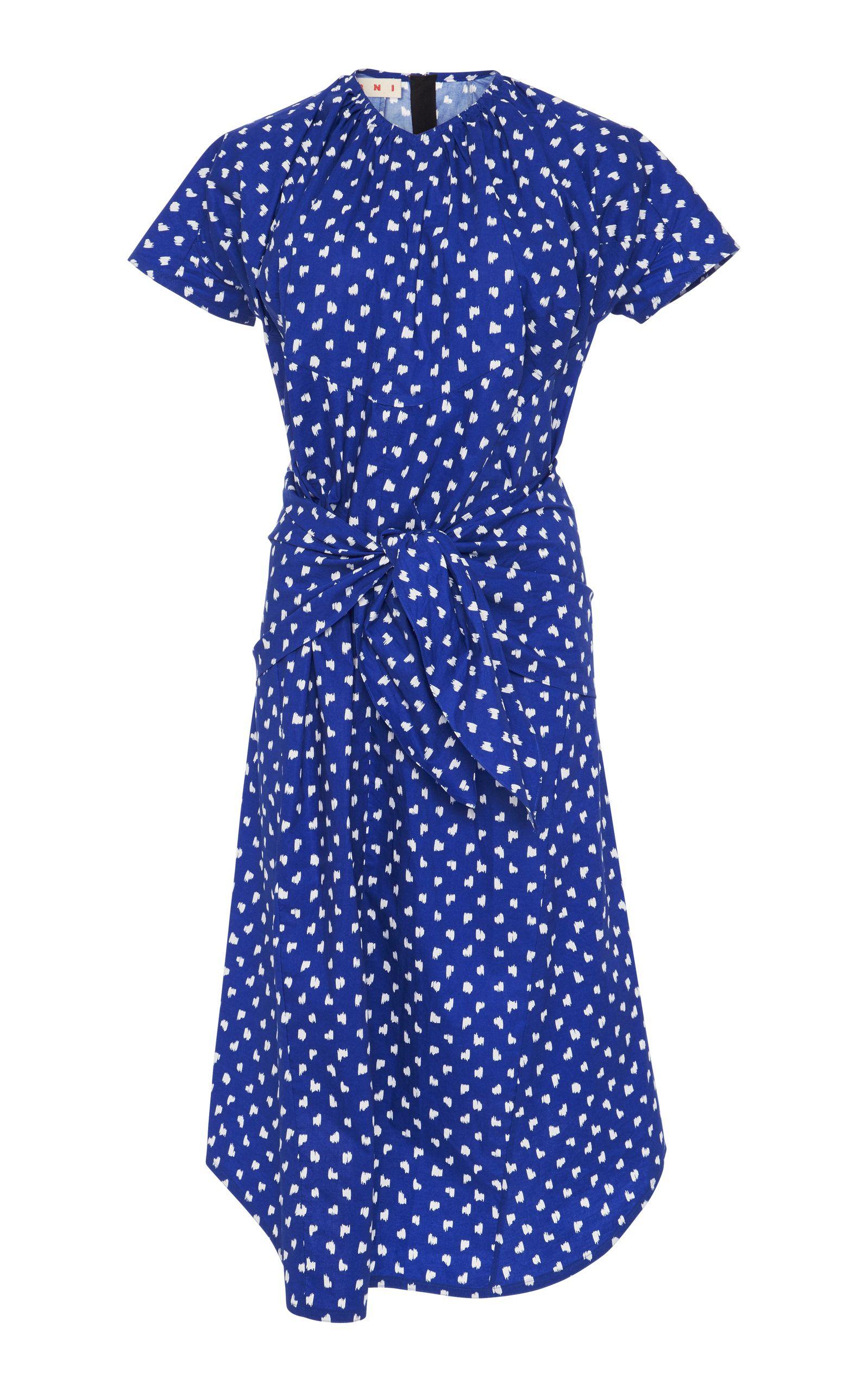 0b9a441d529a Short Sleeve Polka Dot Dress | Fashion Lust | Dresses, Marni, Poplin ...