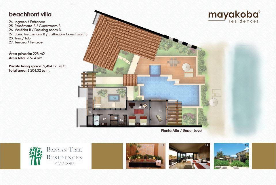 Banyan Tree Mayakoba VILLA平面 Pinterest Mls listings, Condos - bao vestidor