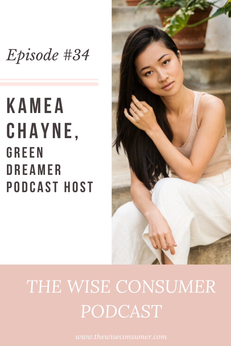 """Kamea Chayne, Founder and Host of """"Green Dreamer"""" podcast"""