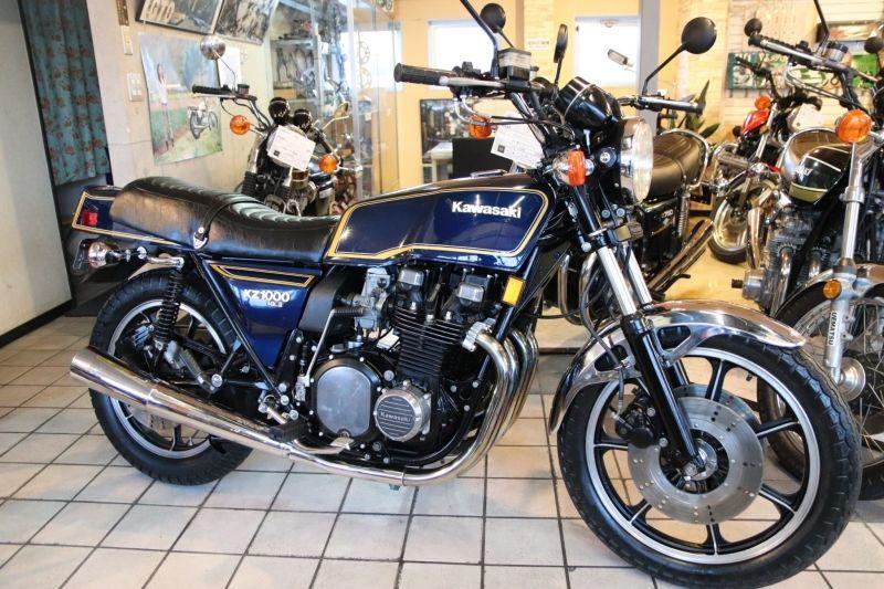 絶版車 旧車 バイク ウエマツ Uematsu Kz1000mk Ll 東京本店 フルノーマル カワサキ Kz1000mk Ll カワサキ 旧車バイク バイク