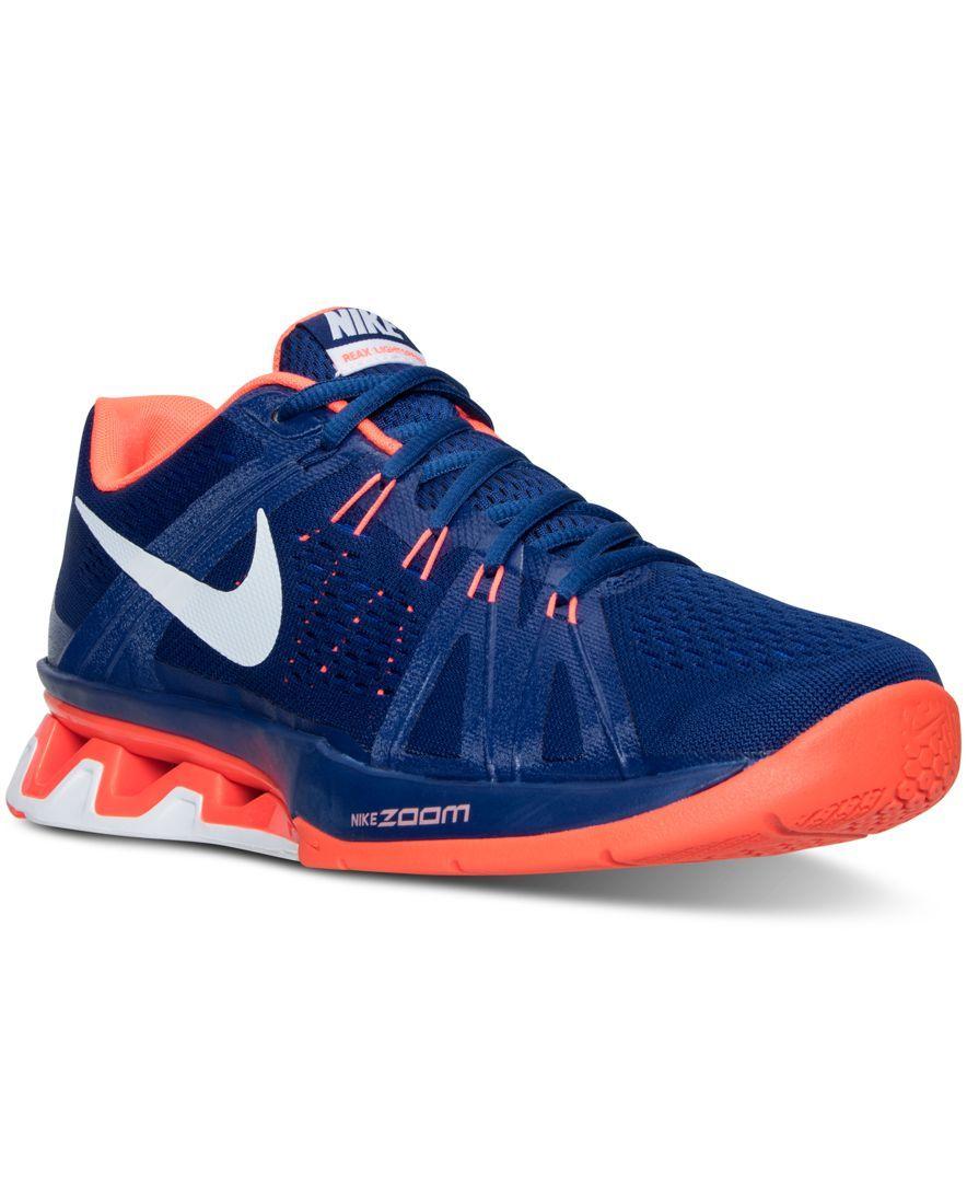 1c0bb79234ac Nike Men s Reax Lightspeed Training Sneakers from Finish Line ...